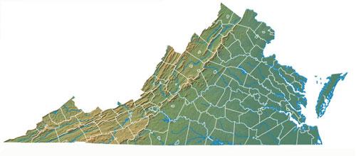 Hayes Virginia Map.Wyatt Quarles Seeds Virginia Dealers